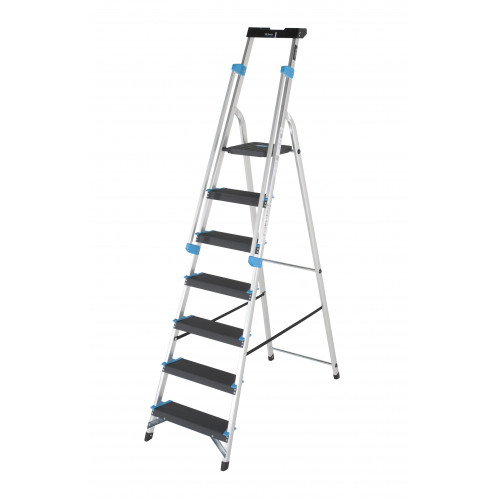 7 Tread Premier XL Platform Step with Handrails