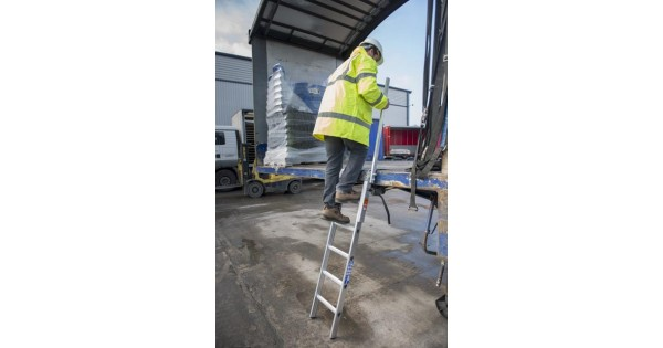 5 Rung Loadstep Lorry Bed Access Ladder