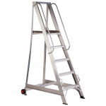3 Tread Aluminium Warehouse Stepladder