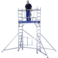 Zarges Reachmaster AGR 6.5m Working Height Mobile Tower