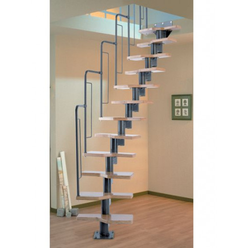The Graz Modular Spacesaver Staircase
