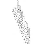 The Graz Modular Spacesaver Staircase