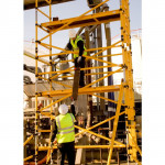 BoSS Zone 1 GRP Single Width  13.7m Working Height Tower