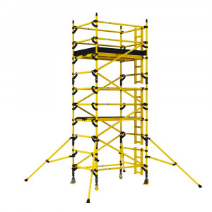 BoSS Zone 1 GRP Double Width  6.2m Working Height Tower