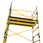 BoSS Zone 1 GRP Single Width  10.2m Working Height Tower