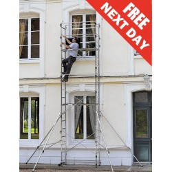 6.70m (22ft) Working Height DIY Aluminium Scaffold