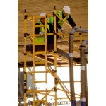 BoSS Zone 1 GRP Single Width  6.7m Working Height Tower