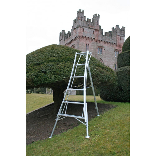 6 Tread Adjustable Tripod Ladder