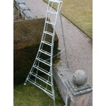 8 Tread Adjustable Tripod Ladder