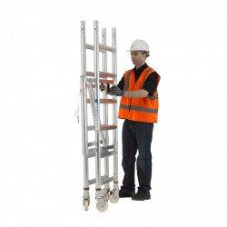 Folding Mobile Towers