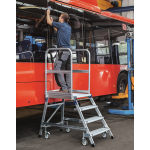 Zarges Mobile Work Platform 4 Tread