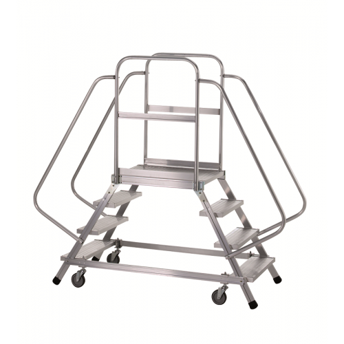 Zarges Mobile Work Platform 8 Tread Double sided