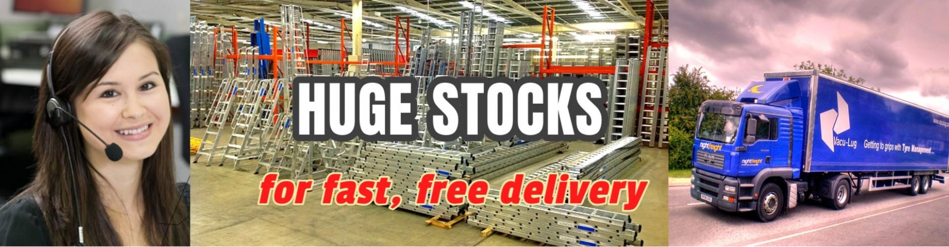 Huge Stocks