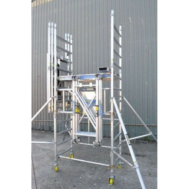 Boss Tower Staircase : Youngman boss solo one man alloy tower m