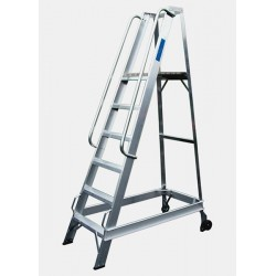 8 Tread Aluminium Warehouse Stepladder