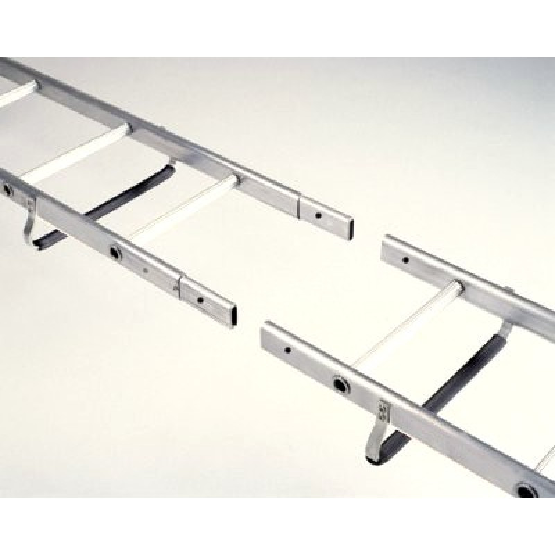 Midland Extendable Aluminum Ladders : Procat ft m roof ladder extension