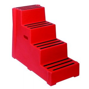4 Tread Heavy Duty Moulded Safety Step
