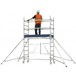 Zarges Reachmaster 3.7m Working Height Mobile Tower (Outside Use)