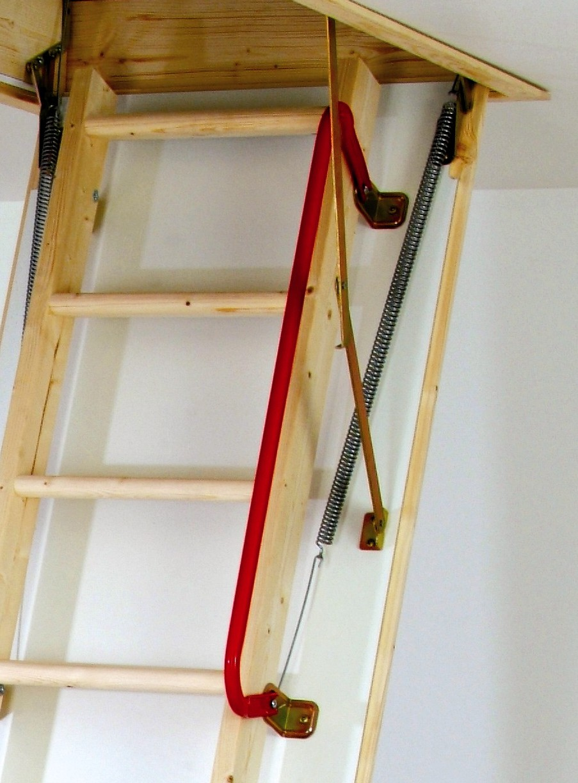 Loft Ladder Handrail
