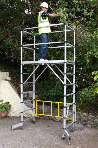 Mobile Scaffolding Product : Teletower telescopic scaffold tower