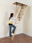 LUXFOLD Luxury Wooden Loft Ladder