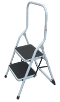 2 Tread Folding Steel Step Stool