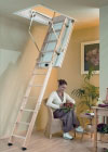 "Titan ""Exclusive"" 3-part Timber Loft Ladder"